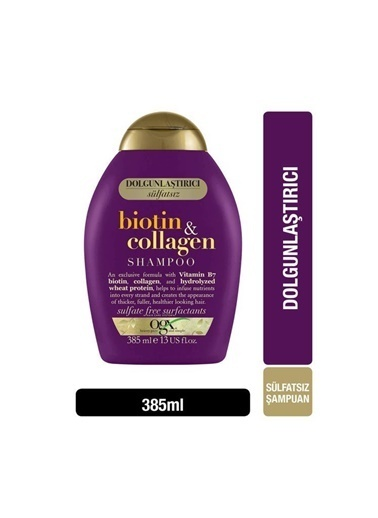 OGX Ogx Biotin & Collagen Şampuan 385 ml Renksiz